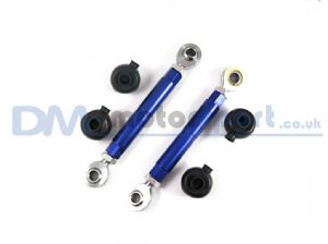 RX7 FD3S Blue Adjustable Toe Control Upper Arm (Pair)